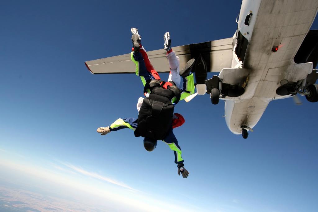 Comment s'habiller pour sauter en parachute