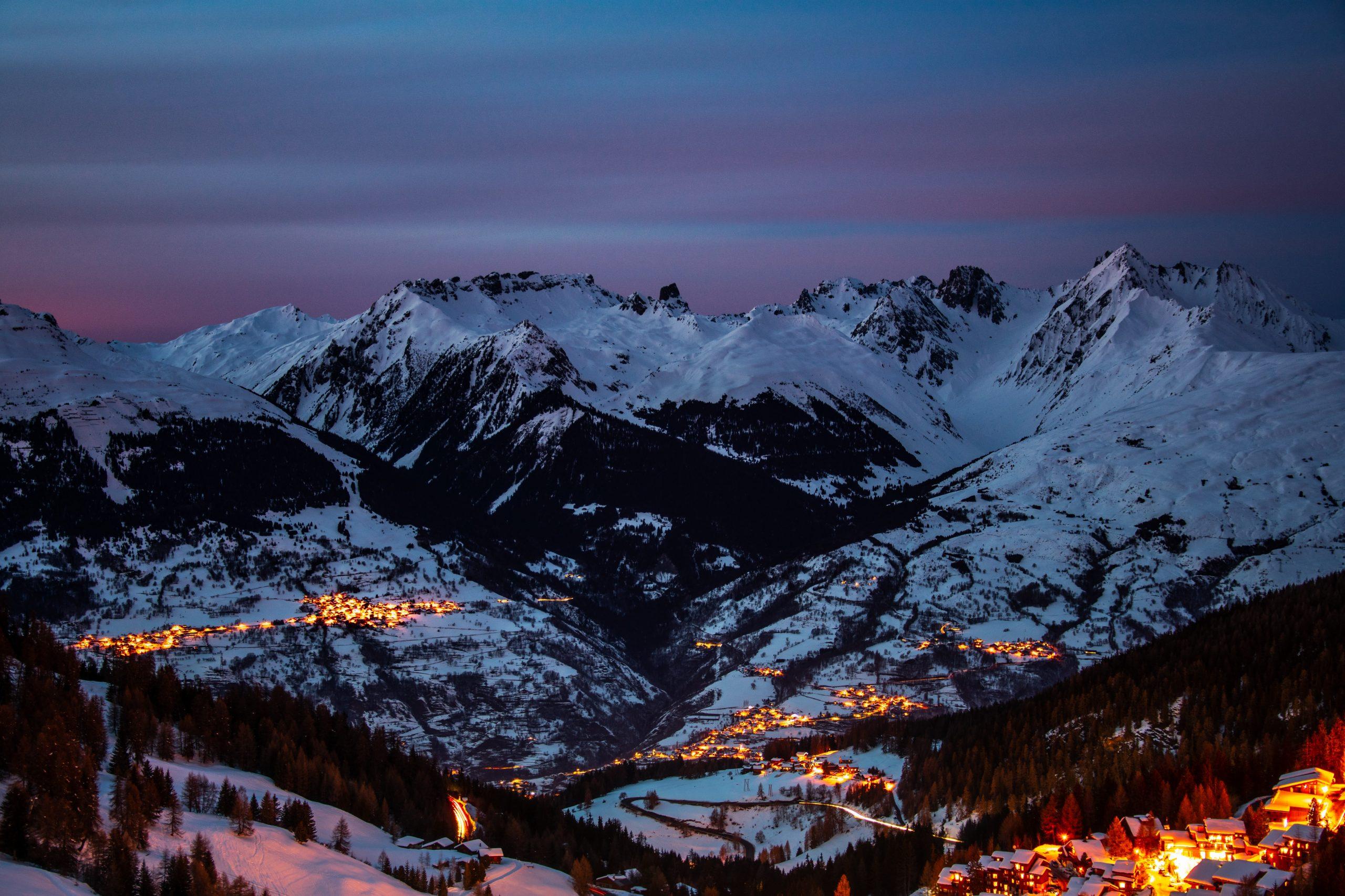 Focus sur la station de ski La Plagne