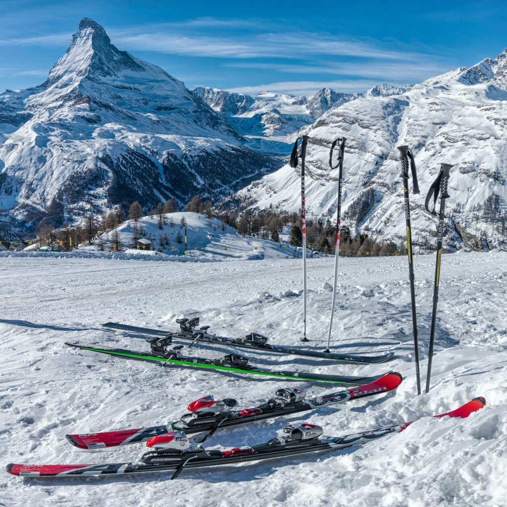Skis entretien
