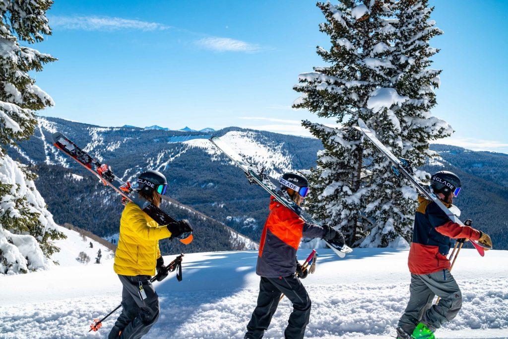 skieurs vêtement thermoregulateur